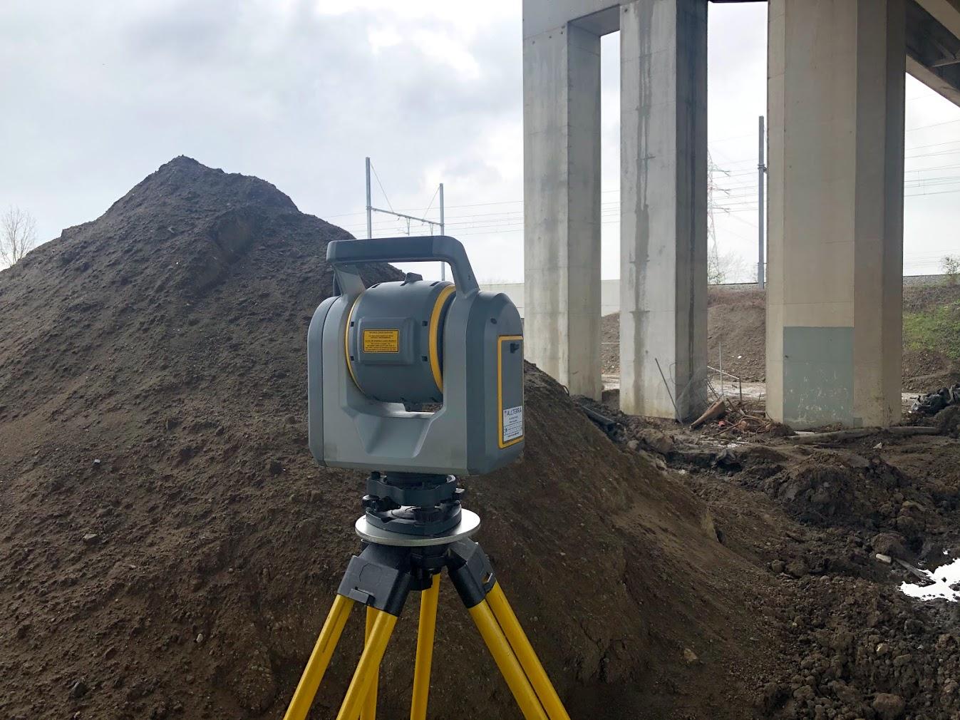 3d laserscanning brug en grond
