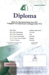 VCA veiligheid leidinggevend