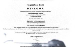 diploma landmeter